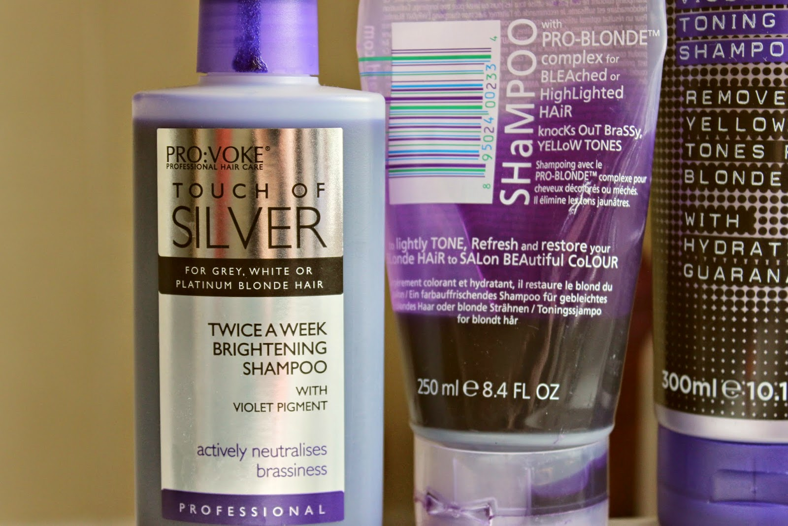 How To Tone Your Hair With Purple Shampoo From Platinum Blonde Silver You