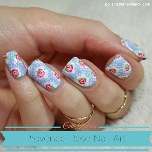 Nail Arts By Rozemist Cath Kidston Vintage Inspired: Cath Kidston Nail Art & Tutorial / Polish Is The New Black