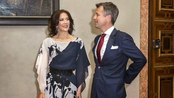 Princess Mary And Prince Frederik Attended A Banquet In Munich