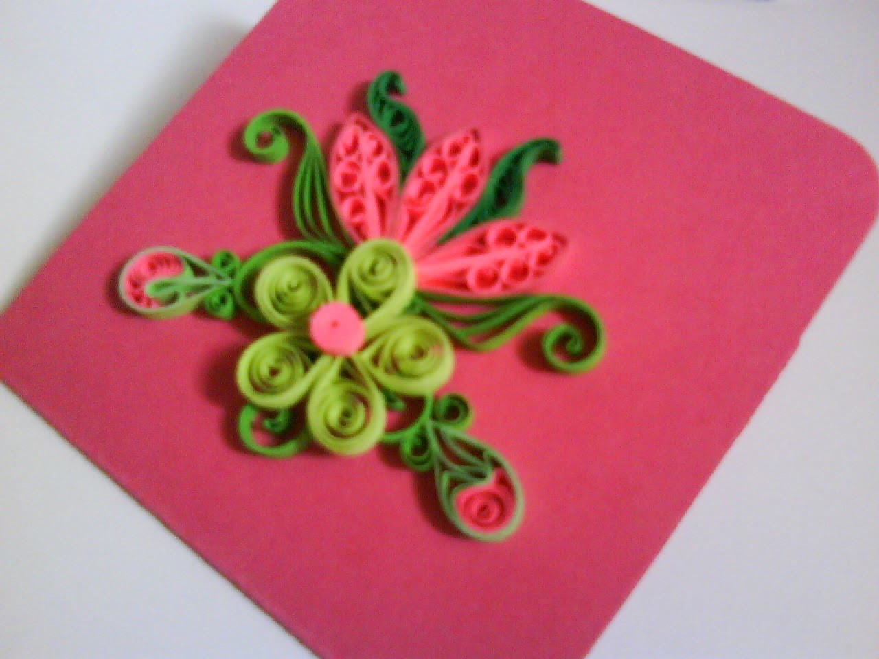 Some of my quilling cards to my lovely custtq for shopping at Crafty