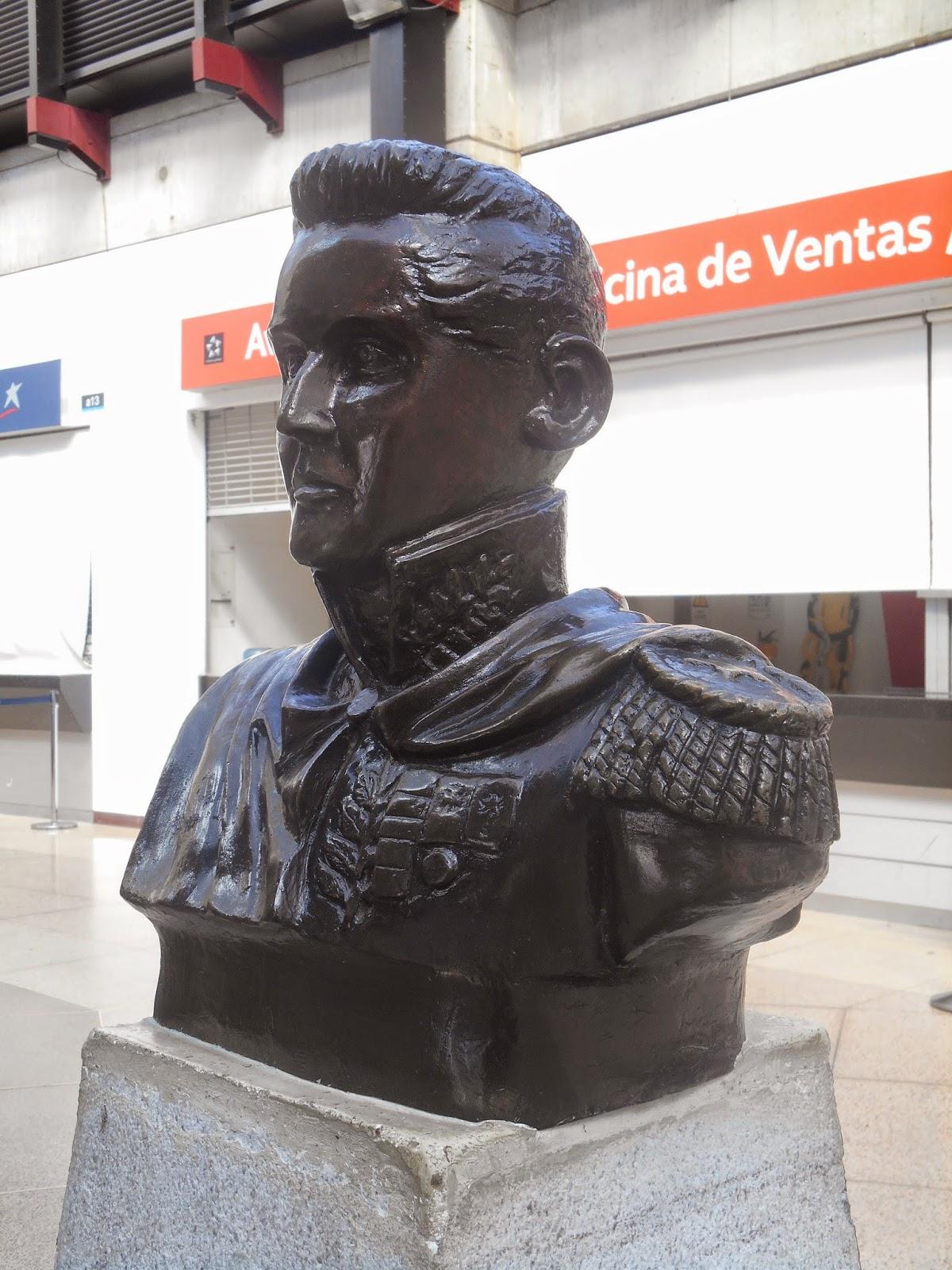 Busto de José María Córdoba