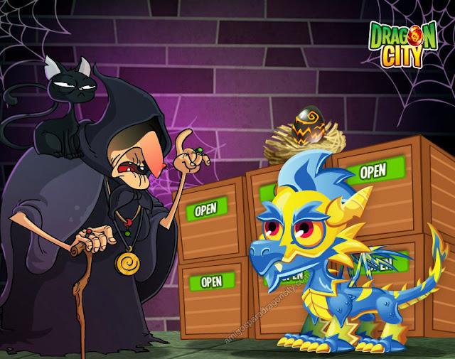 imagen del dragon relampago en el mercado negro del dragon