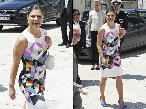 Crown Princess Victoria Visits Portugal, Day 1