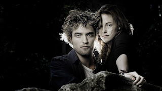 Edward and Bella in Dark HD Wallpaper