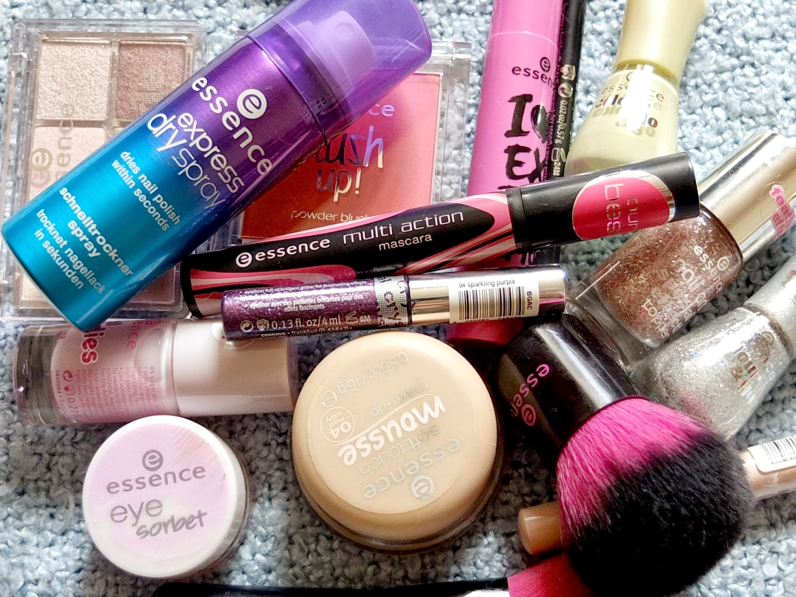 Beauty blog review of Essence make up products in the UK. Now available at Wilkinson stores.