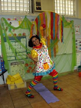 La Payasita Lulu quiere que visites la página de Discovery kids