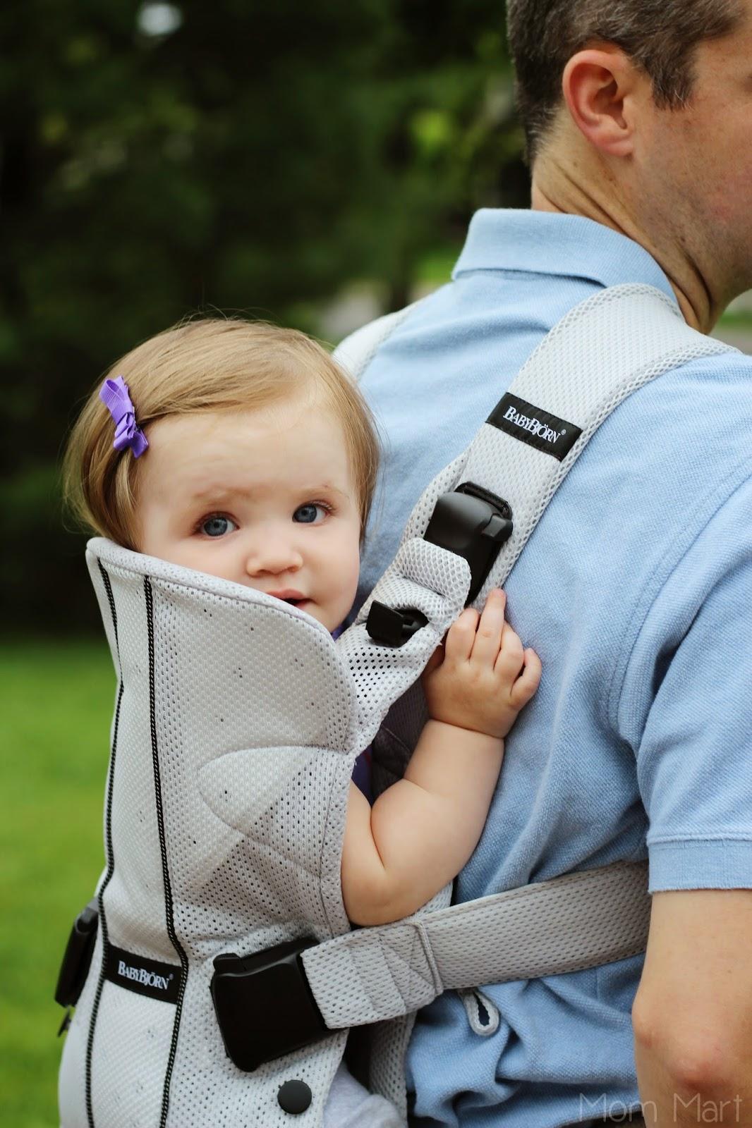 BABYBJÖRN Baby Carrier One in Silver Mesh #BabyWearing #BabyCarrierOne #OneIsAllYouNeed #Giveaway #wearallthebabies #babywearingdad