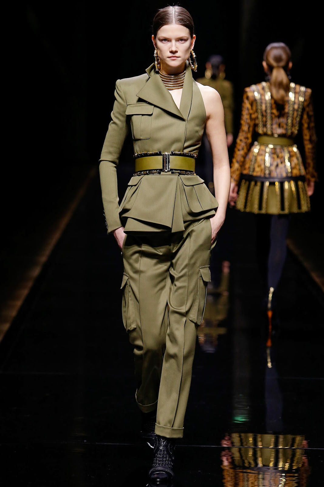 Balmain fall winter 2014-2015