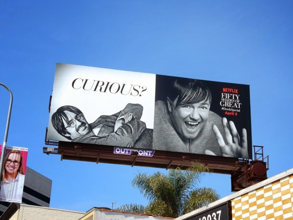 Fifty Shades of Grey Derek parody billboard