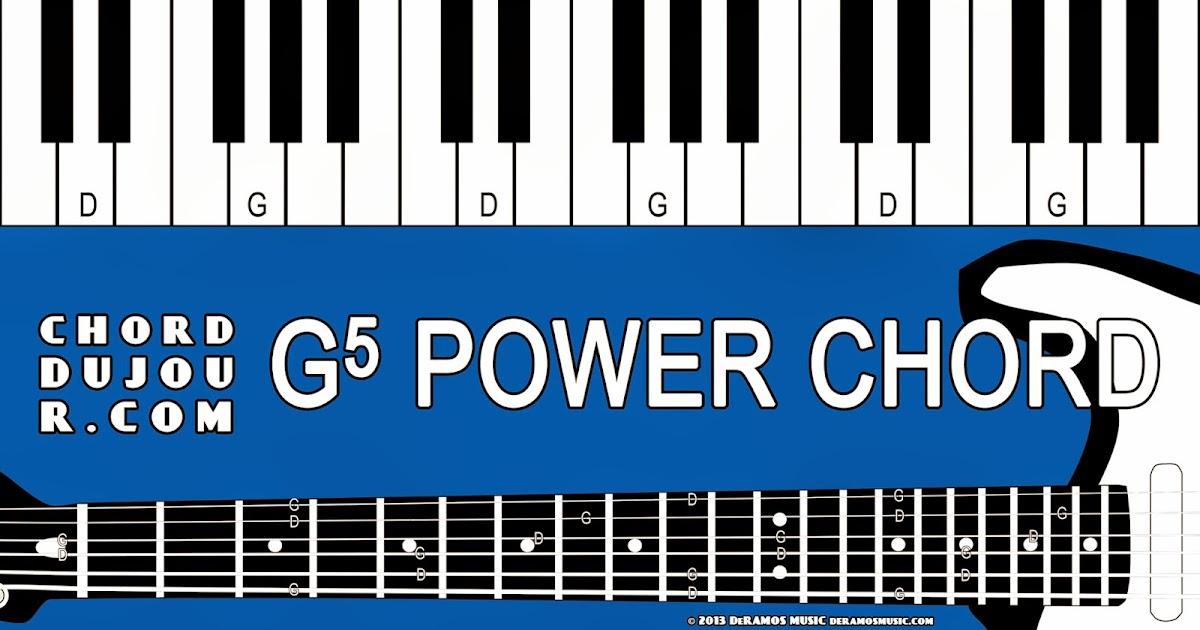 Chord du Jour: Dictionary: G5 Power Chord