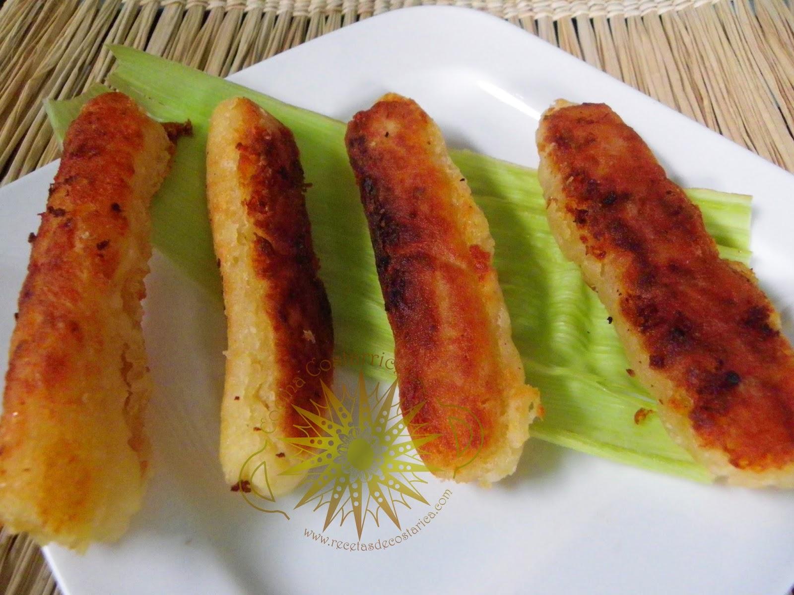 Cocina Costarricense: churros de yuca