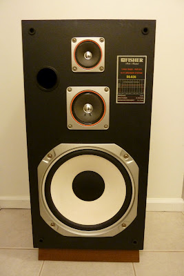 Vintage speakers Fisher DS-826