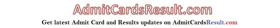 AdmitcardsResult.com
