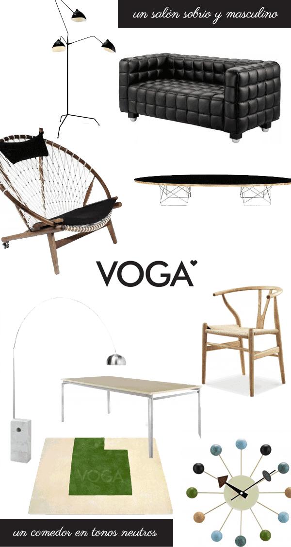 chill decoración | el mundo de voga: mobiliario y lámparas de ... - Replicas De Muebles De Diseno