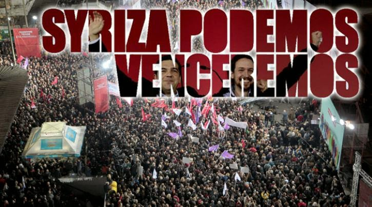 SYRIZA - PODEMOS venceremos