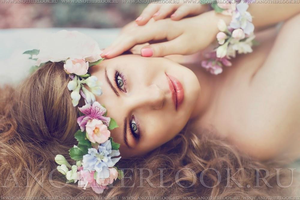 фотосессия венки из цветов