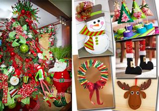 La navidad dise os - Ideas para adornar la casa en navidad ...
