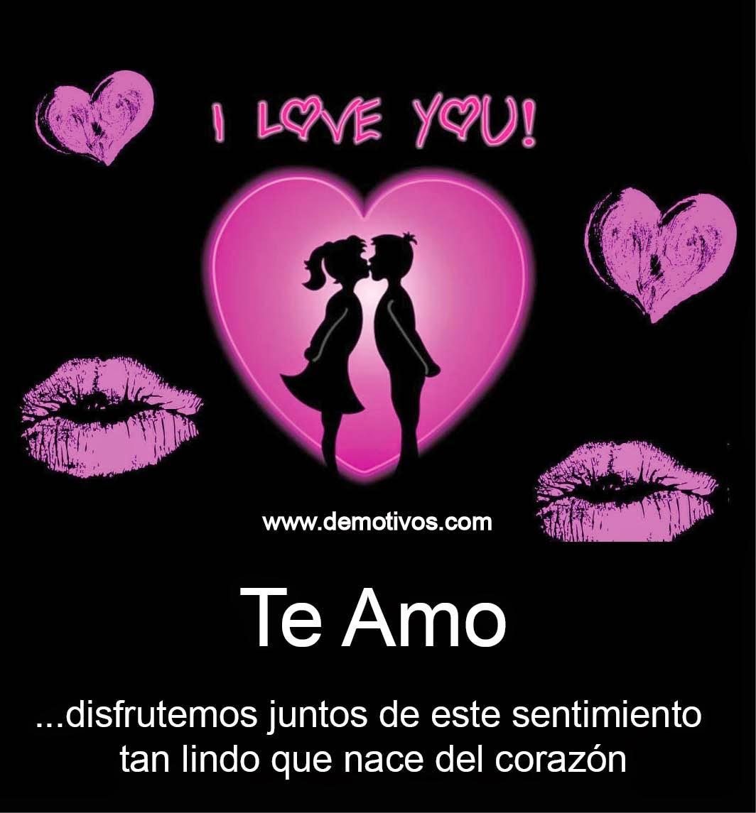 Imagenes de te amo mi amor   Desmotivaciones de enamorados