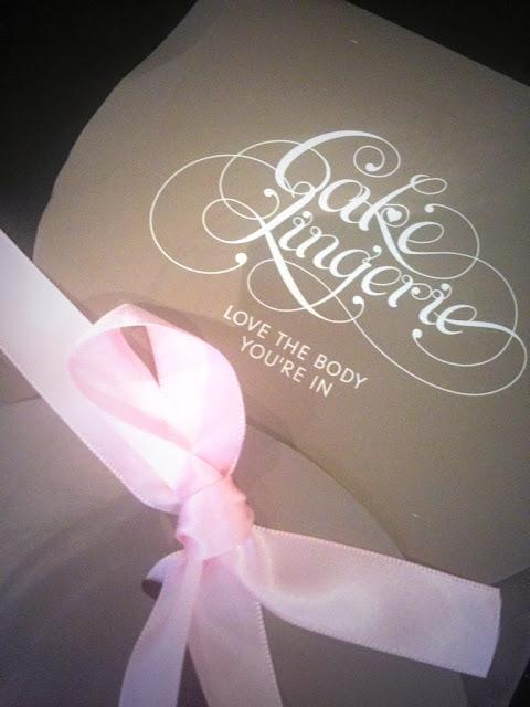 Cake Lingerie packaging