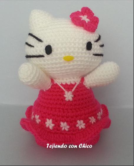 Tejiendo con Chico: Hello Kitty 11
