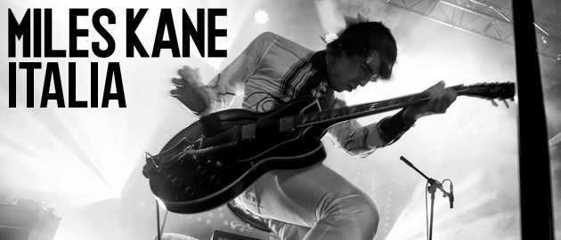 Miles Kane Italia