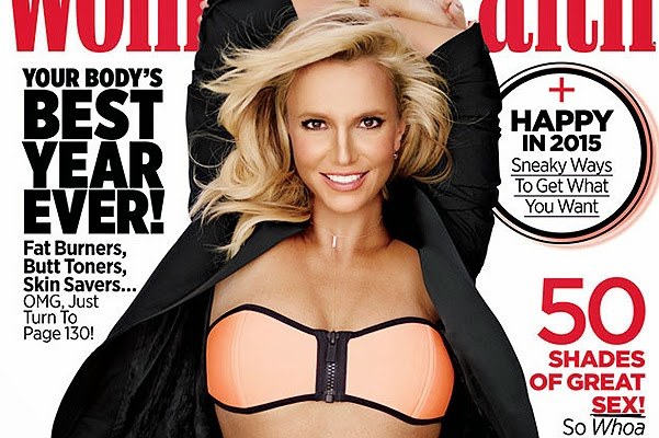 Britney Spears on the cover of the latest issue Women's Health