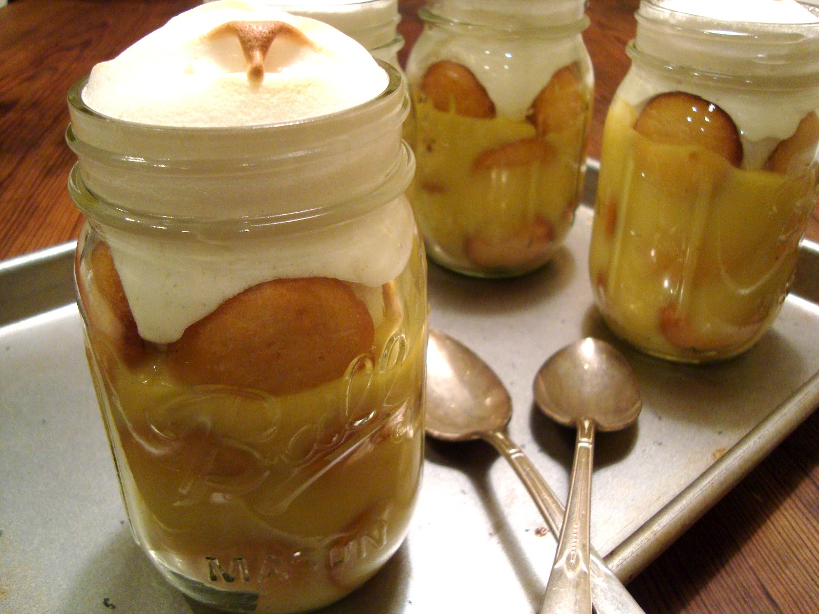 Headspace: Comfort in a Canning Jar: Banana Pudding