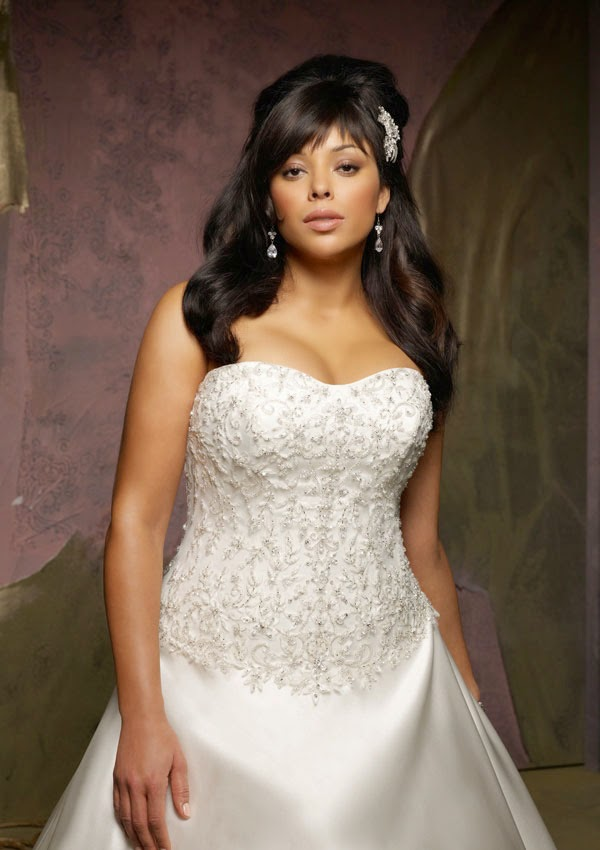White Plus Size Wedding Dresses Photos HD Concepts Ideas