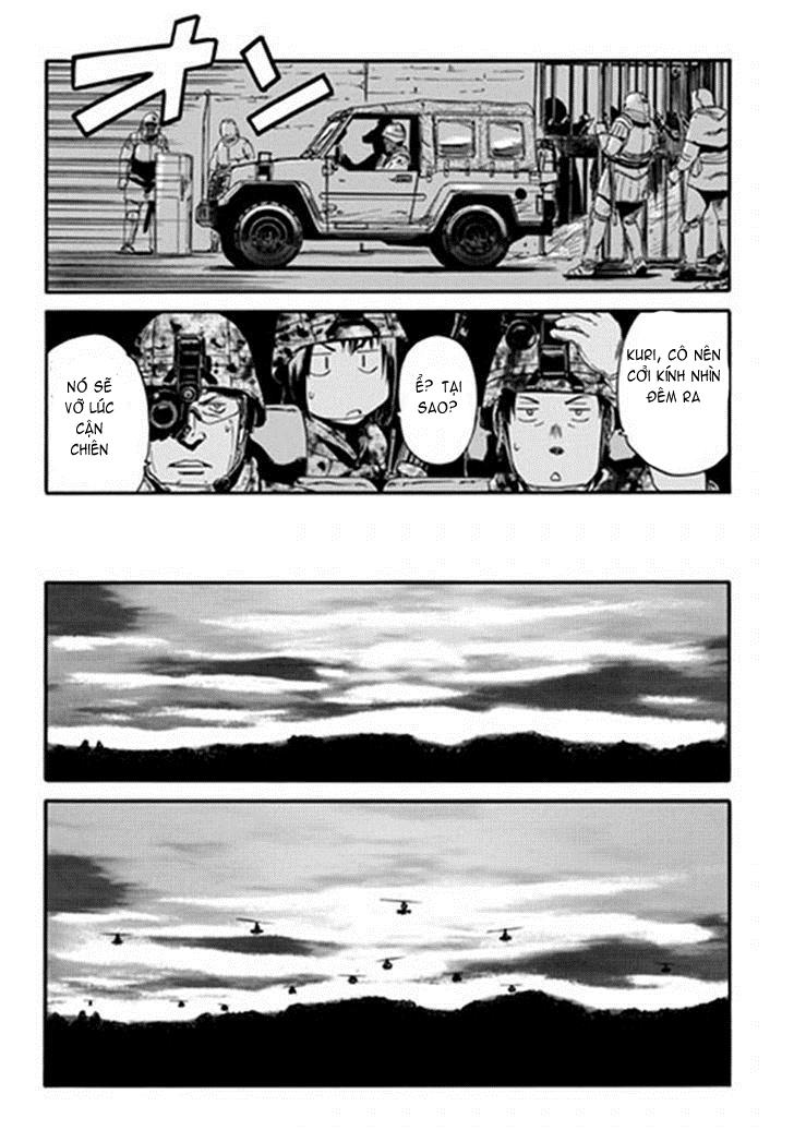 Gate – Jietai Kare no Chi nite, Kaku Tatakeri chap 11 Trang 17 - Mangak.info