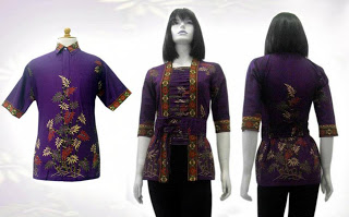 blus batik wanita