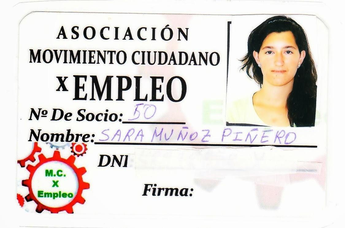 SARA MUÑOZ PIÑERO
