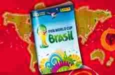 El Album Panini virtual de la Copa Mundial de fútbol Brasil 2014, se lanza online el 15 de abril