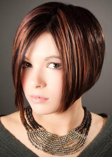 Short Hairstyle of 2012 and Makeup Guide: 2012 Layered Bob Hairstyles