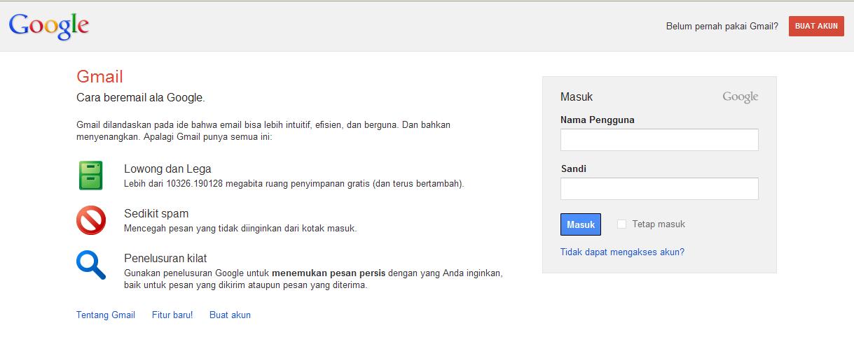 cara membuat email di gmail terbaru