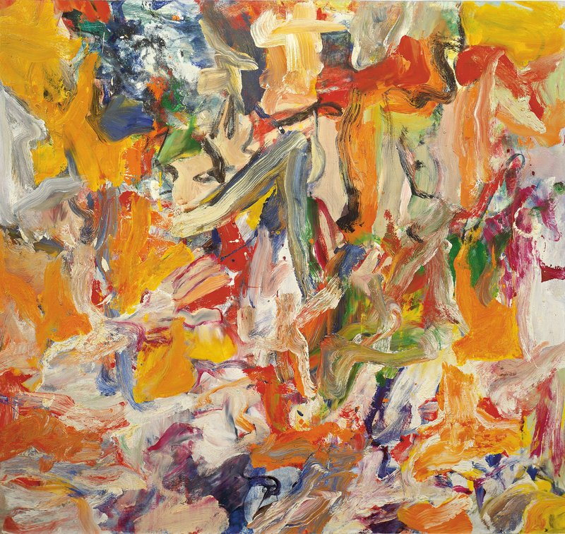 Exposition art blog willem de kooning for The art of painting
