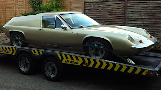 1969 Lotus Europa with Yorkshire Navigator