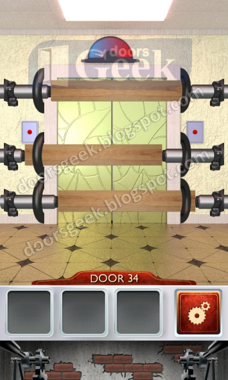 100 Doors 2 Level 34 Doors Geek