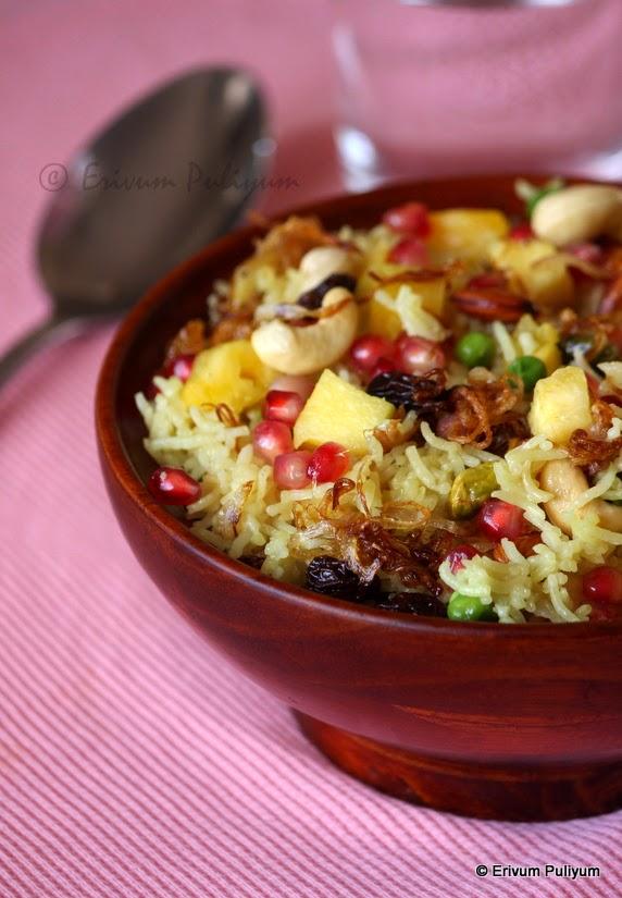 Kashmiri Pulao | Sweet Pulao