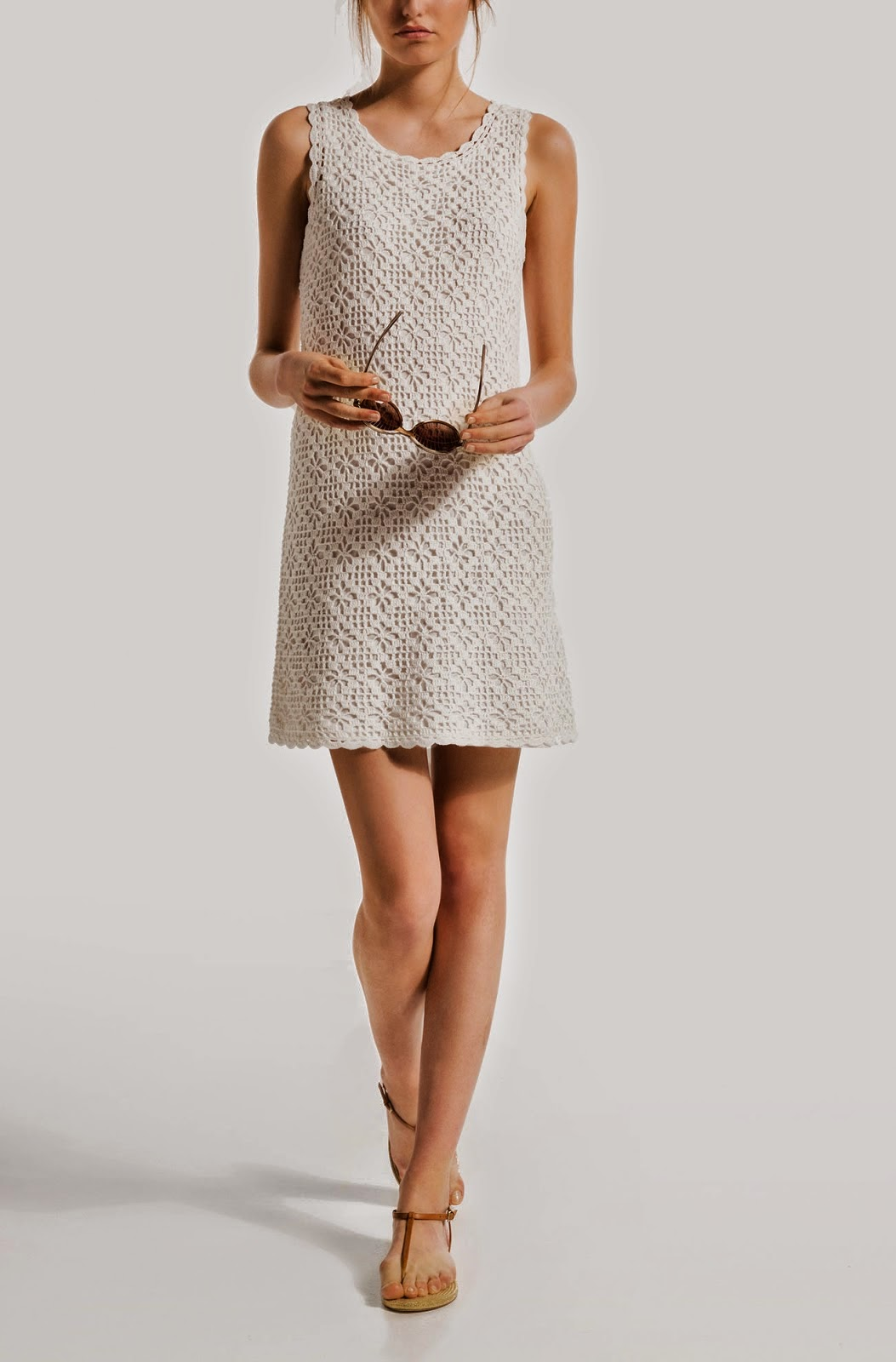Crochet Patterns Dress : ... to Try: Free Crochet Pattern for Classic Casual and Chic Summer Dress