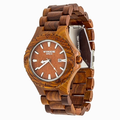 Enter the Woodie Specs - Sandalwood Watch Giveaway. Ends 4/9.