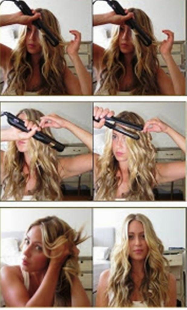 Peinados Con Plancha Faciles - Seis peinados con planchas Bulevar Sur ABC de Sevilla