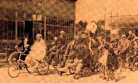 Nuntasi pe biciclete
