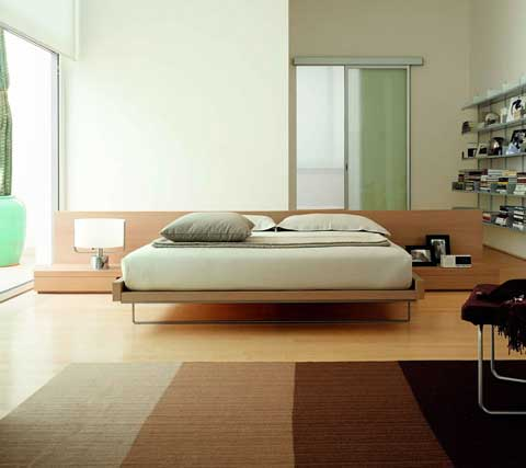 simple bedroom designs are suitable for men as in the above design