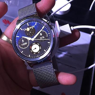 Harga Jam Tangan Huawei Watch W1 Terbaru 2016