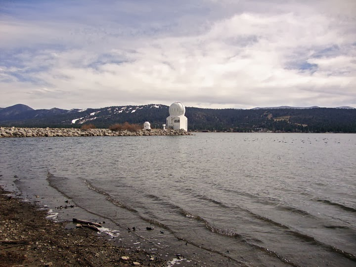 Big Bear Solar Observatory on Big Bear Lake, CA