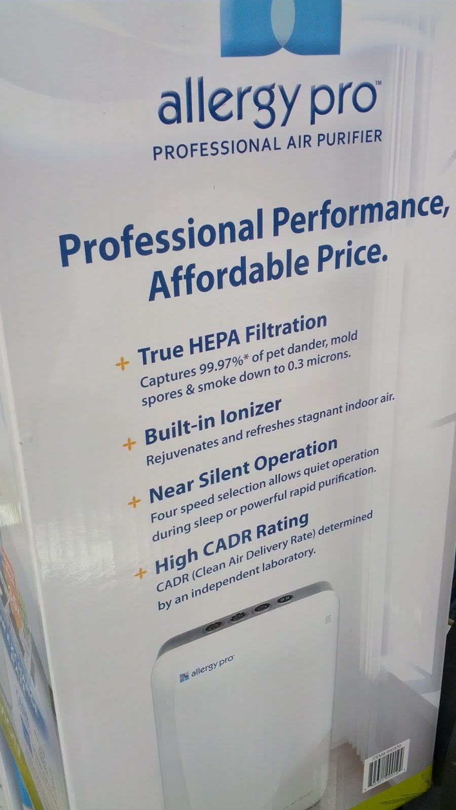 Air Purifier Costco Rollover To Zoom Additional Features