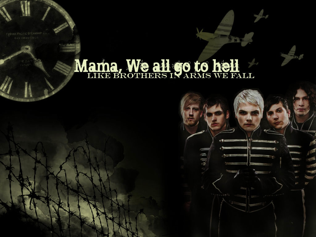 my chemical romance wallpaper all about music