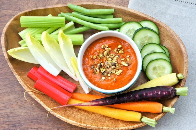Roasted Red Pepper Dip Recipe — Dishmaps