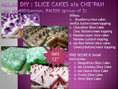 KELAS DIY SLICE CAKE