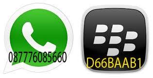 VIA WhatsApp Dan BBM